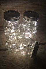 12 pack of mason jar lamps - Knot and Nest Designs