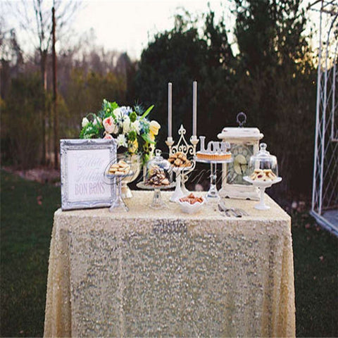 Rectangular Sequin Tablecloth