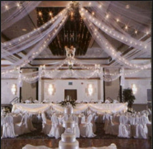 600' premium White tulle package - Knot and Nest Designs