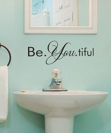 Bea-you-tiful Vinyl decal - Knot and Nest Designs