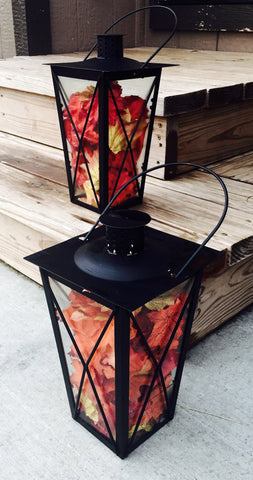 Lanterns black - 2 pack