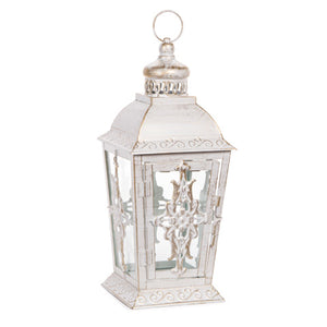 Cream Rustic Lantern - Knot and Nest Designs