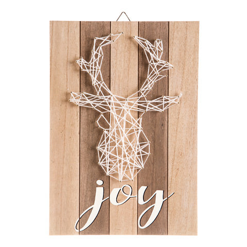 Joy Deer String Art - Knot and Nest Designs