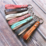 Customized Keychain - Bridesmaid, Groomsman, Holiday gift