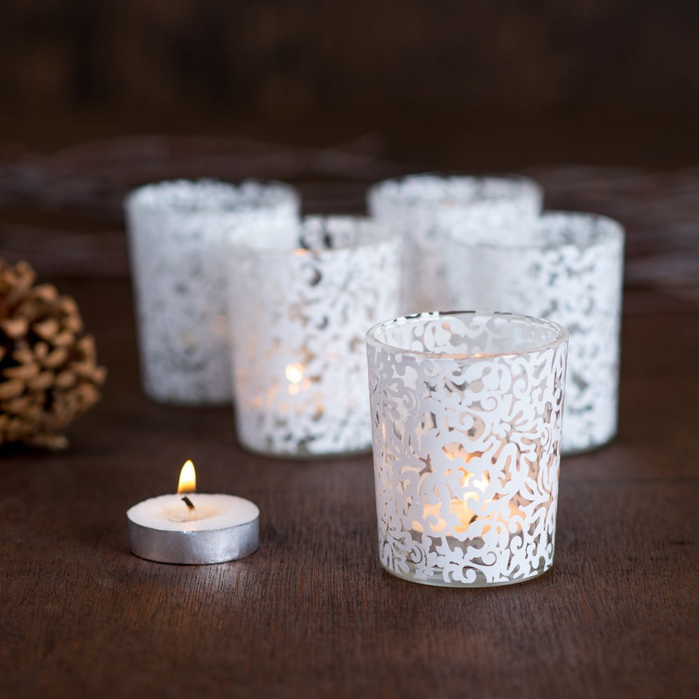 Lace votives - 12 pack - Knot and Nest Designs