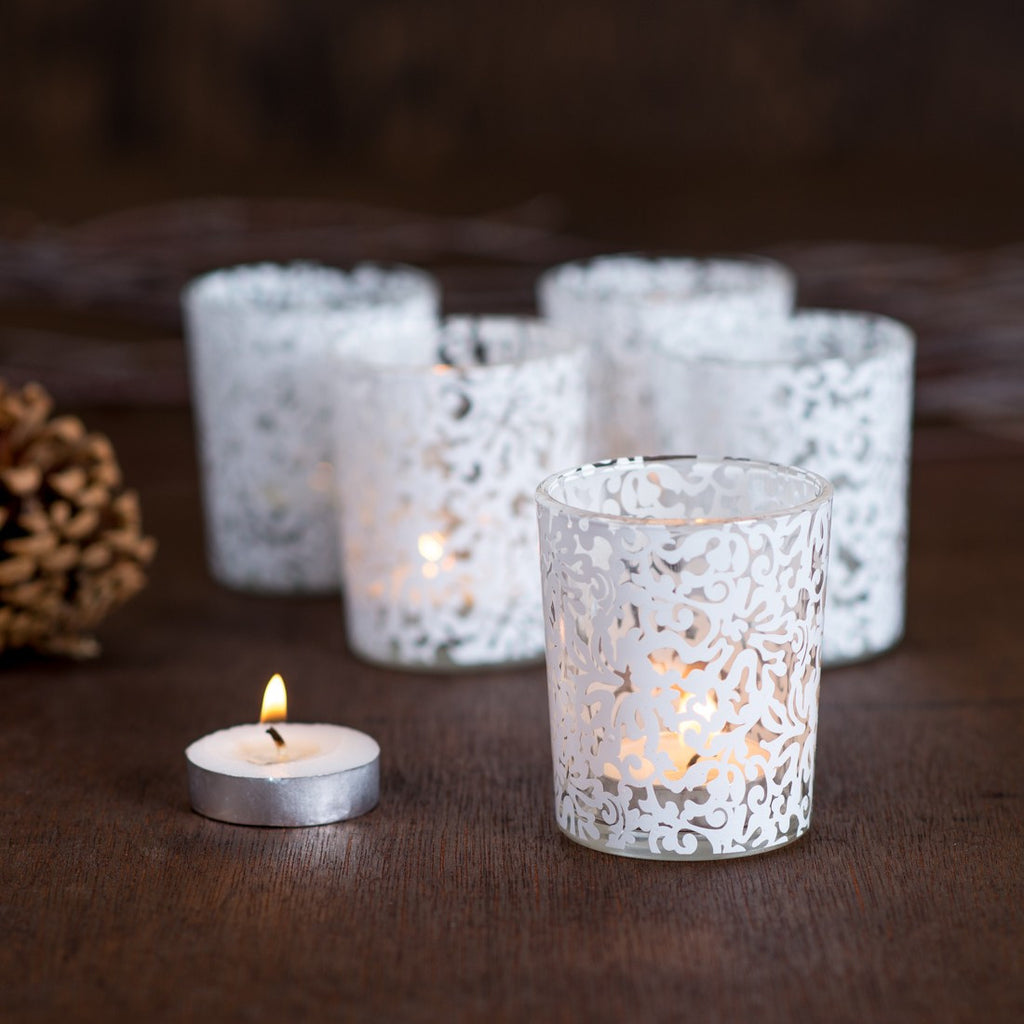 Lace votives - 12 pack