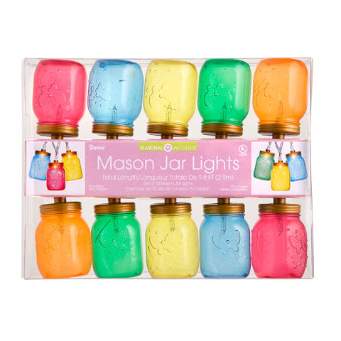 Mason Jar Lights - Knot and Nest Designs