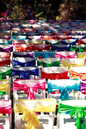 25 - Chair Sashes Choose your color - Knot and Nest Designs