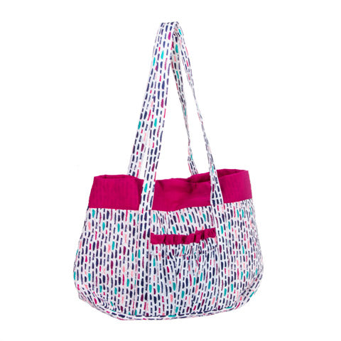 Multi Color Designer Tote - Knot and Nest Designs