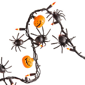 Load image into Gallery viewer, 50 Light Halloween Lighted garland - Knot and Nest Designs