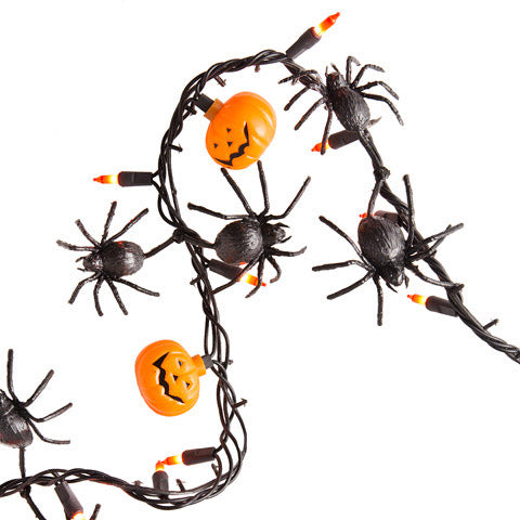 50 Light Halloween Lighted garland - Knot and Nest Designs