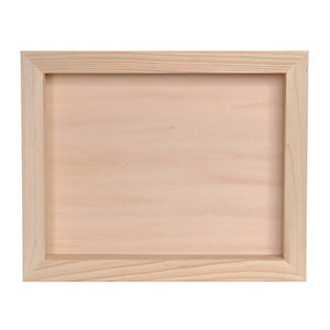 Pine Wood Shadow Box - Knot and Nest Designs