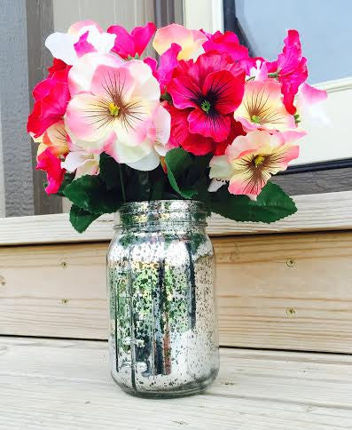 Mercury Mason Jar - Knot and Nest Designs