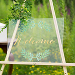 Welcome Wedding Acrylic Sign