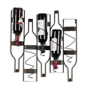 Load image into Gallery viewer, Large Wine Bottle Holder - Knot and Nest Designs