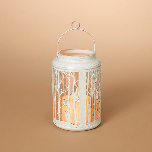 Rustic Woods Lantern with battery operated candle