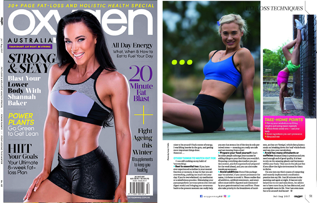 Oxygen Magazine Feature Kula Athletic