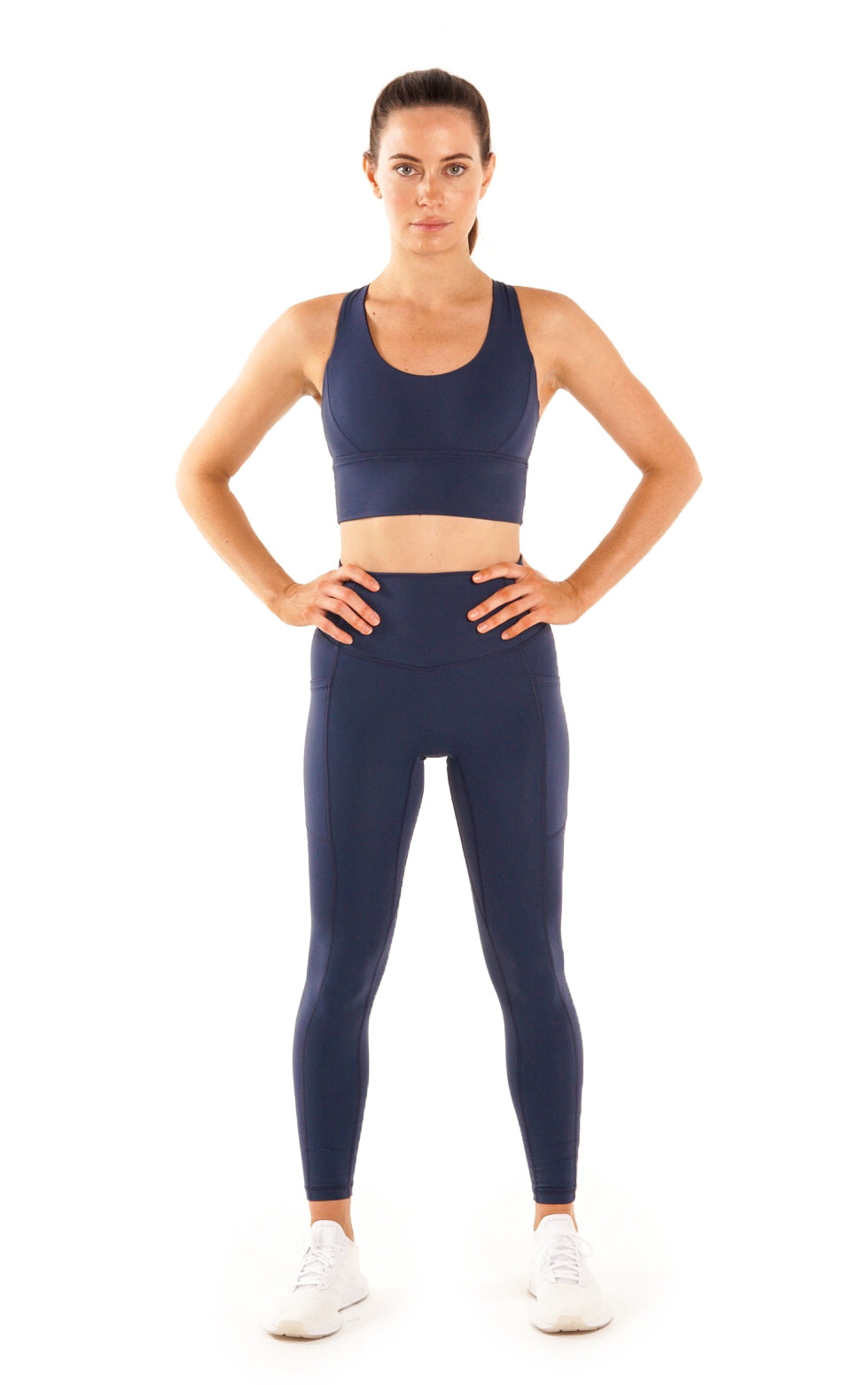 Lunar Legging in Steel Blue