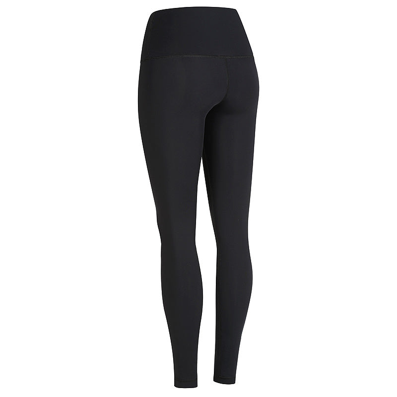 Black high waisted compression yoga pants