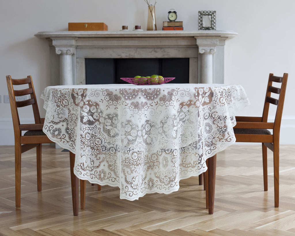 Derby Scottish Lace Tablecloths
