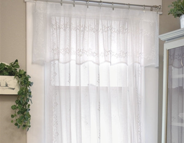 Sheer Divine Lace Curtains