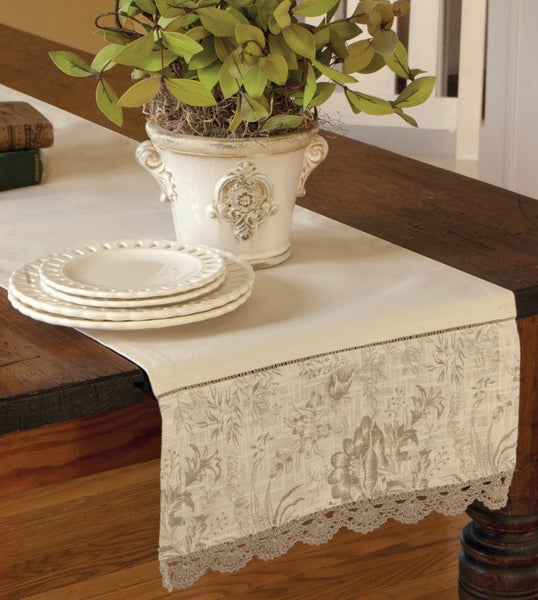 Bella Table Lace and Linens