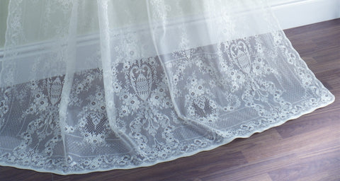 Lydia Scottish Lace Curtains