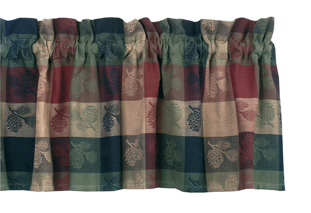 "Pinecone Valance 72"" wide x 14"" long by Park Designs 797-47"