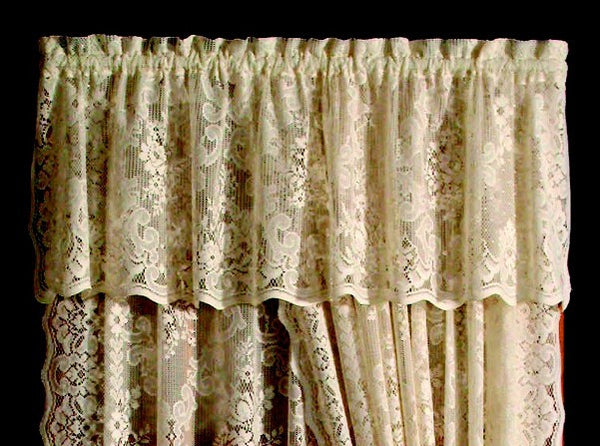Highland Cotton Polyester Lace Curtains
