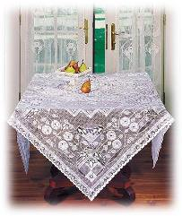 Rennie Scottish Table Covers and Table Runners, Table Lace