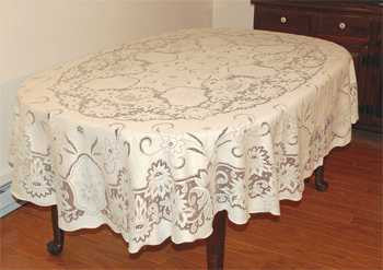 Stratford Scottish Lace Tablecloth 55 x 96 Oblong-Rectangle