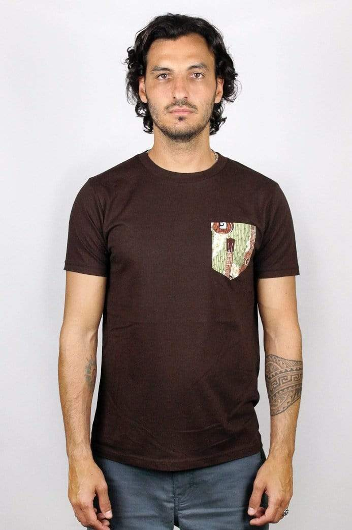 GUITAR POCKET TEE - panamunaproject Ethical, Organic & Sustainable T-shirts
