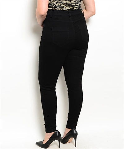 Midnight High-Waist Jeans PLUS