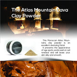 The Atlas Mountain Lava Clay Green Powder 100 gm