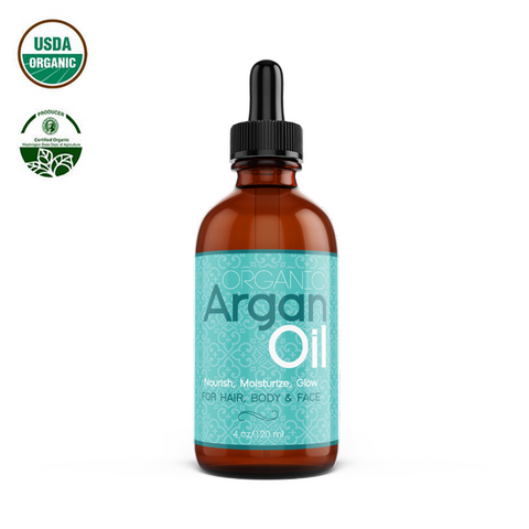 Organic Argan Oil 4 oz
