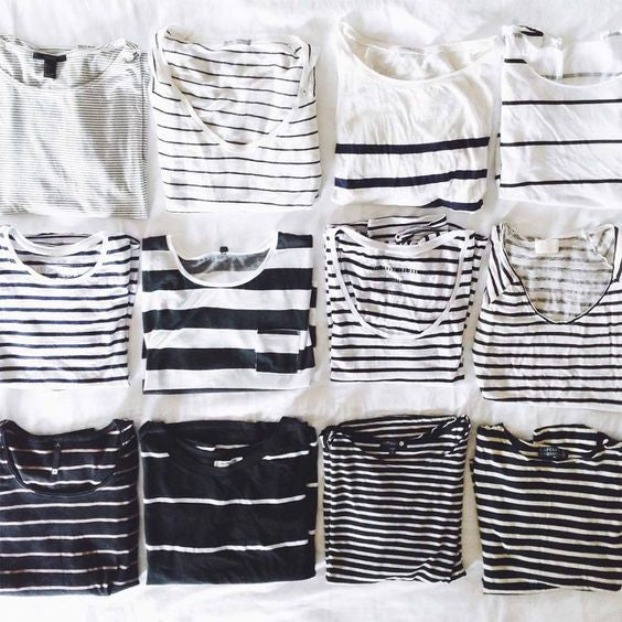 STYLING YOUR FAVORITE STRIPED TOP IN MULTIPLE WAYS