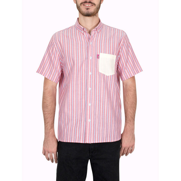Camisa - Piel De Animal Tropikal Modelo Mix Red Roots