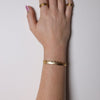 Crown Cuff 18ct Yellow Gold Plated