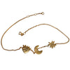 Sister Necklace 18ct Yellow Gold Plated