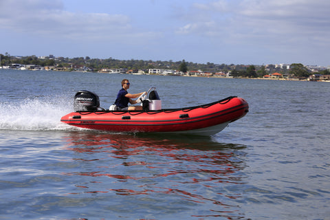 Mercury - 460 Ocean Runner Side console and seat (RIB Hypalon)