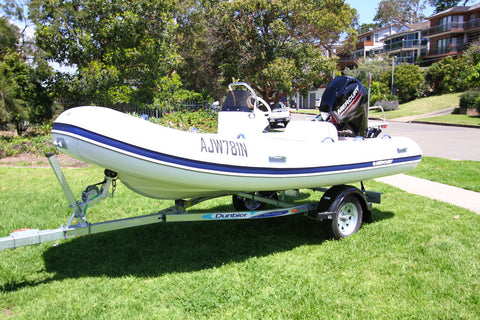 Mercury - 420 Ocean Runner Side console and seat (RIB Hypalon)