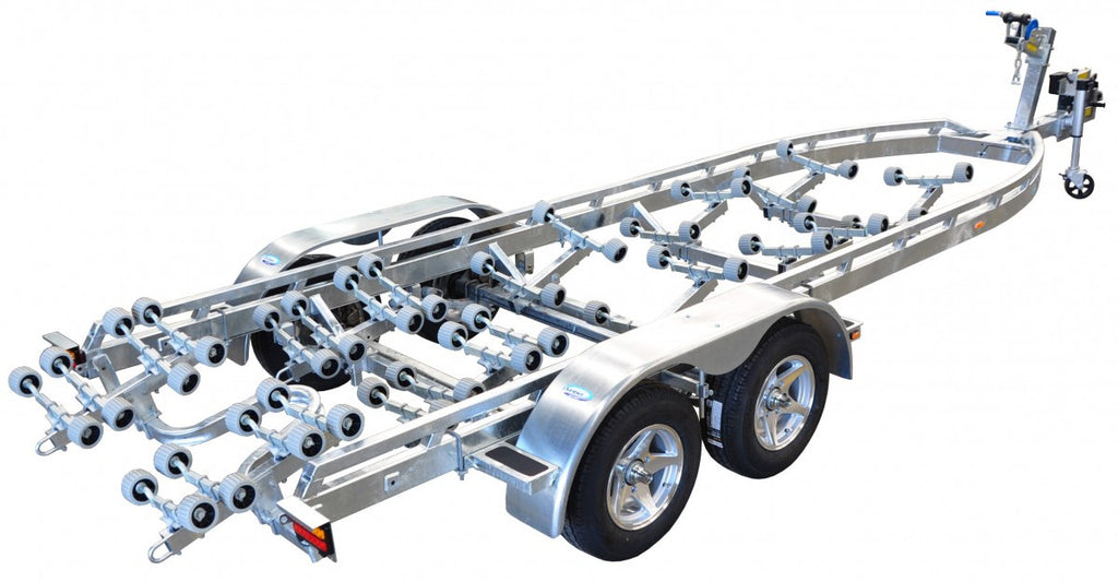 Dunbier - Supa Rolla Wide Frame 8.0m-15THE (Tandem Axle Hydraulic Braked)