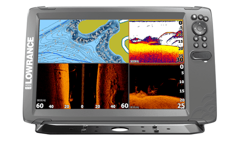 Lowrance - Hook 2 12 Tripleshot inc mapping card