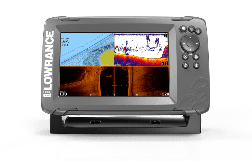 Lowrance - Hook 2 7 Tripleshot inc mapping card