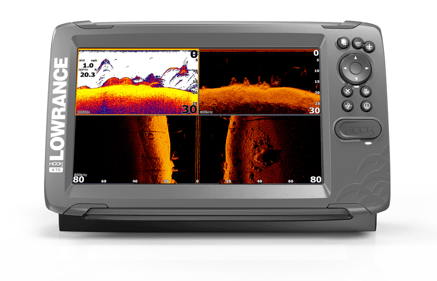 Lowrance - Hook 2 9 Tripleshot inc mapping card