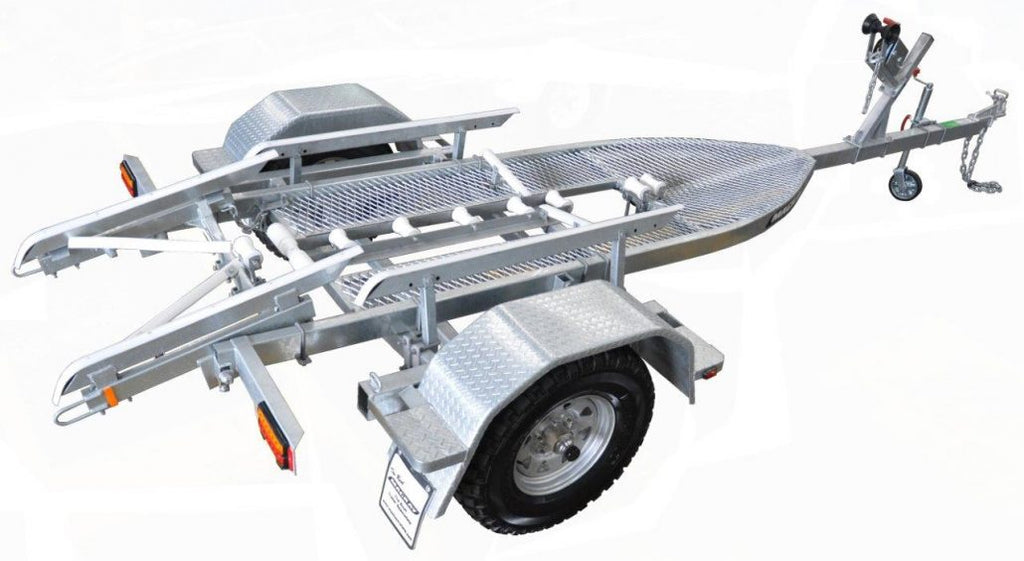 Mackay - KRX4000-14M Off-road trailer (1450kg braked)