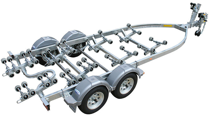 Dunbier - Supa Rolla Wide Frame 7.0m-14THE (Tandem Axle Hydraulic Braked)