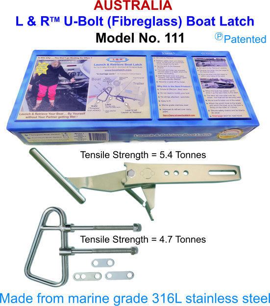 L & R U-Bolt Boat Latch - Model 111