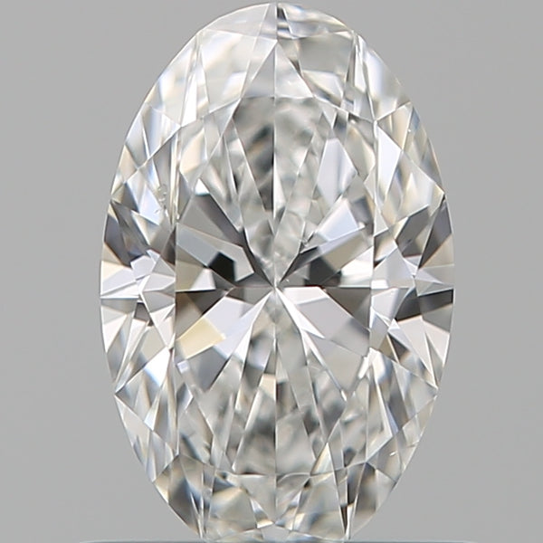 0.59ct F Vs2 Oval Diamond