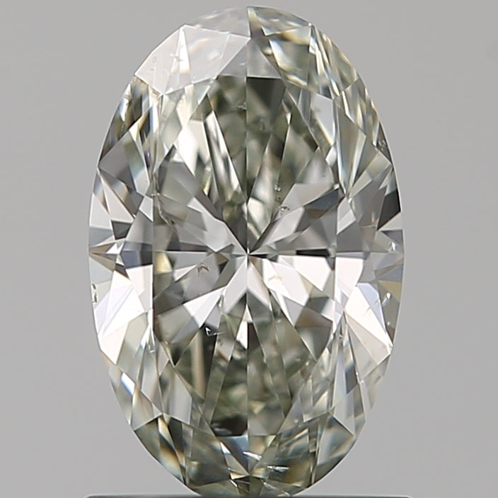 0.90ct Oval Chameleon Diamond